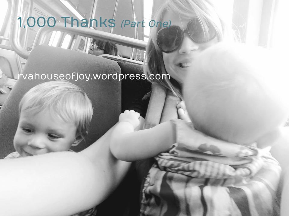 1,000 thanks